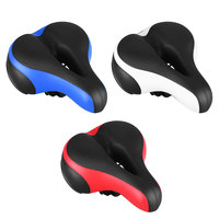 Hot Soft Mountain Bike Saddle Cover MTB Bicycle Saddle Thicken Wide Road Bike Saddle Bicycles Seat Pad Rear Bicycle Accessories