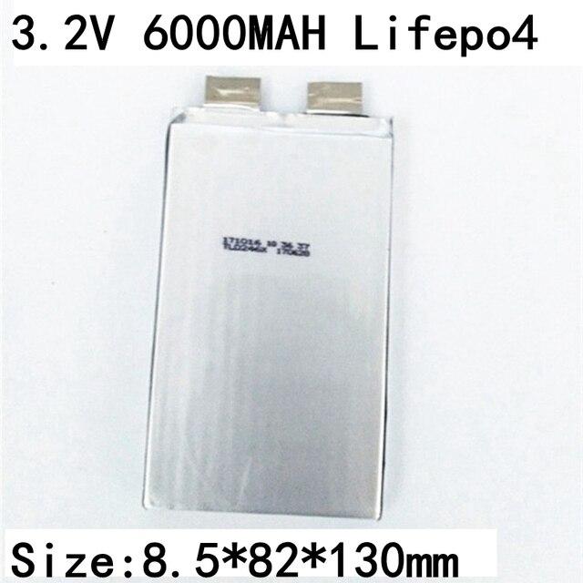 16 pièces Marque Lifepo4 3.2v 6Ah Cellule 3.2v 6000mah Non 7ah 8ah 9ah 10Ah pour Pack bricolage 8582130 24v 12ah 48v 6ah Outils Électriques De Stockage