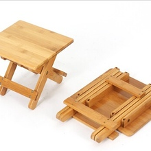 Детские стулья для детского сада бамбуковая квадратная складная детская мебель 26*25*28 см горячая новинка г. модная качественная