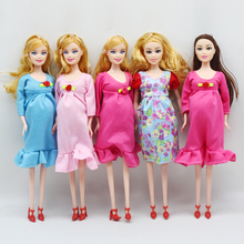 1pcs Educational Real pregnant doll suits mom doll have a ba