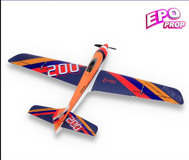 HSD Hobby remote control fighter Furious 200 Furious200 racing radio control propeller plane model