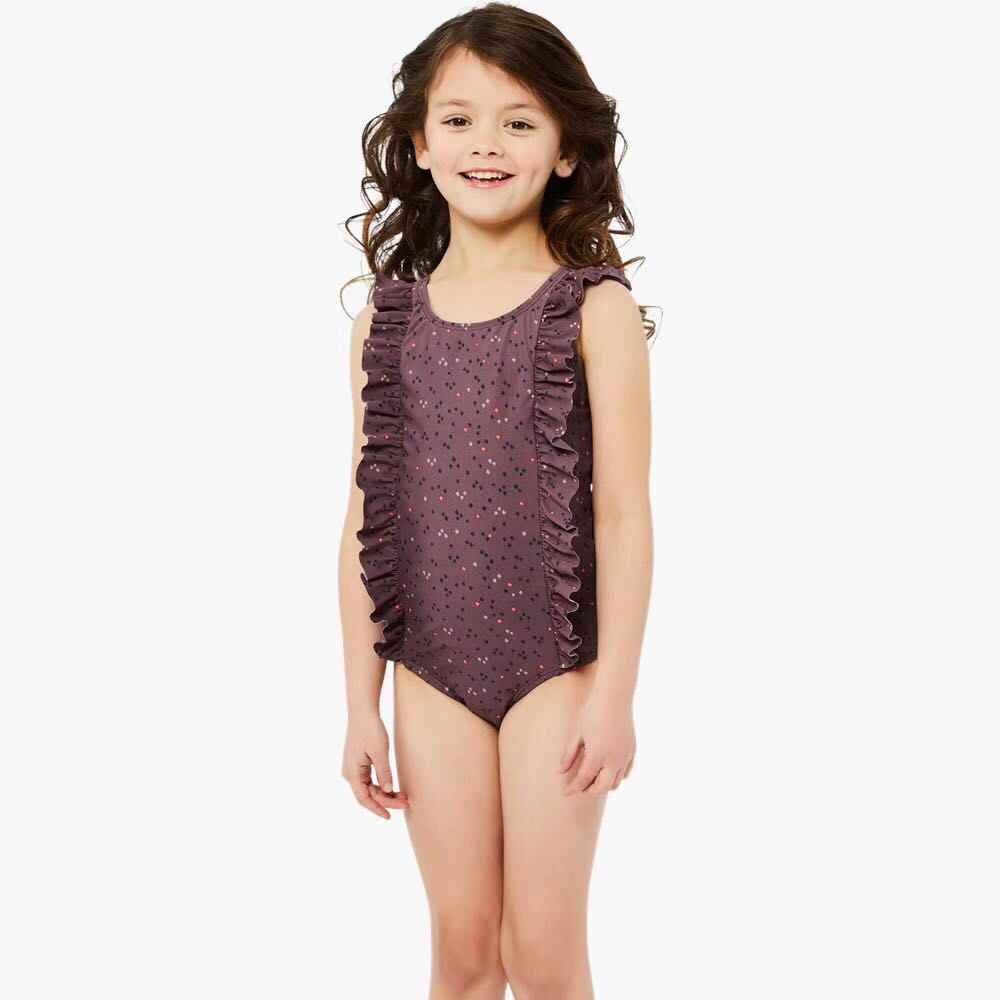 cd9465905 Detail Feedback Questions about Baby Girls Swimwear Cartoon Swan Dot ...