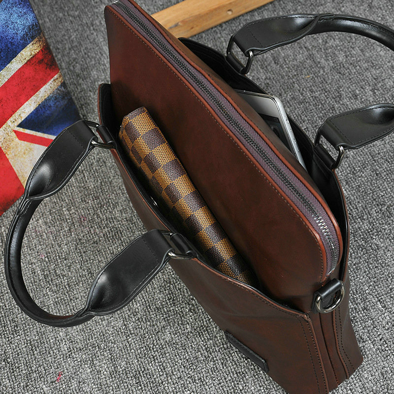 New Design PU Leather Briefcase for Men 9