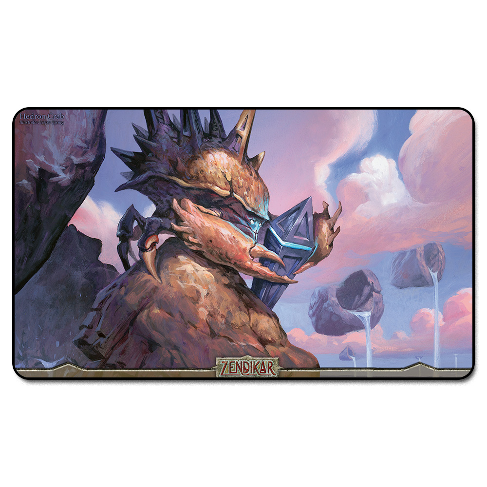 ( Hedron Crab ) Many Choice Magic Card Games Custom Playmat,Board Games MGT Play Mat,Custom Gather Big Mousepad Free Bag