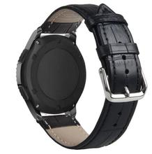 20mm 22 Strap For Samsung Gear sport S2 S3 Classic Frontier galaxy watch 42mm 46 Band leather huami amazfit Bip huawei gt 2(China)