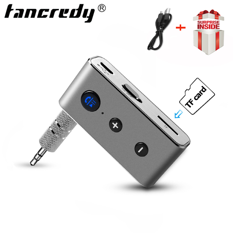 Wireless Aux Bluetooth Receiver Car Bluetooth Adapter Car Kit Hands Free Bluetooth Aux Music