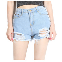 Solid Women Clothing Denim Shorts with Pockets New Arrival Girl Summer Ropa Mujer Slim Short Pants Feminino 2018 Casual Jean