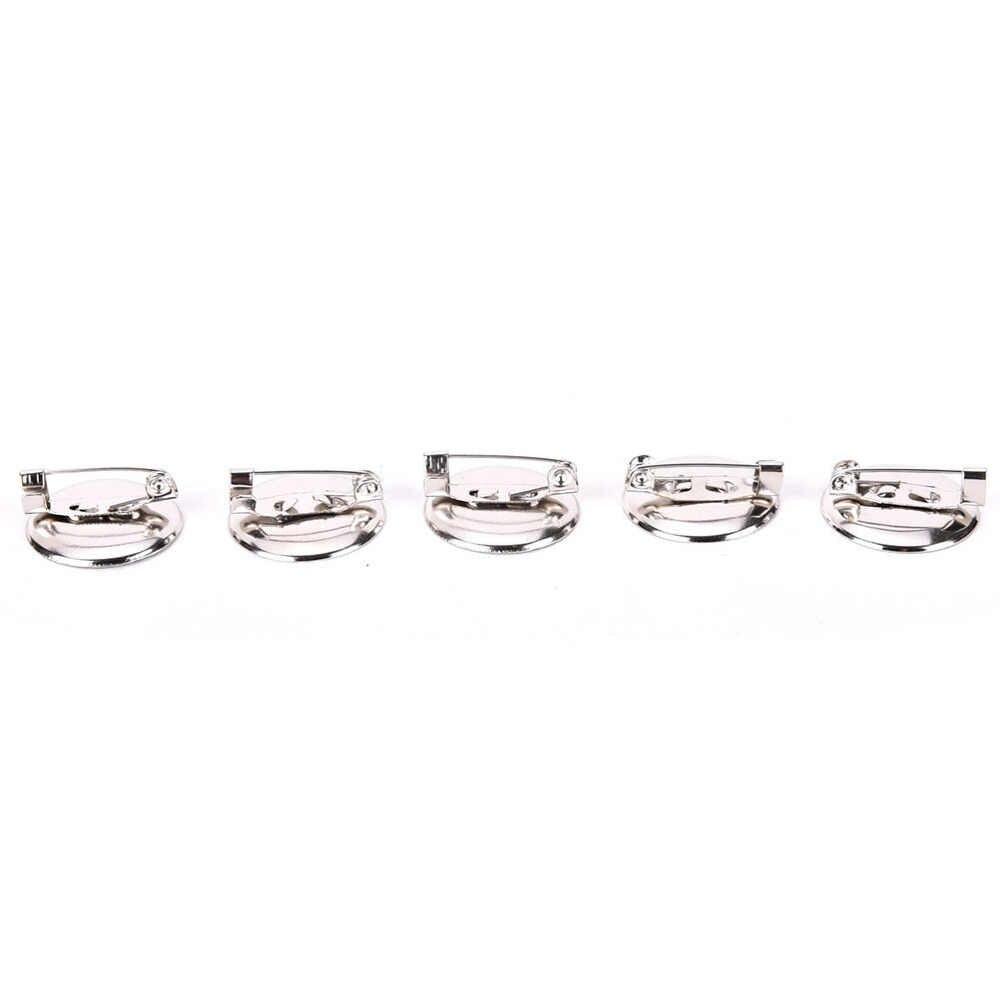 10 sztuk DIY 5 otwory broszki ustalenia bazowe DIY szpilki i broszki do tworzenia biżuterii Fit prezenty dla dzieci