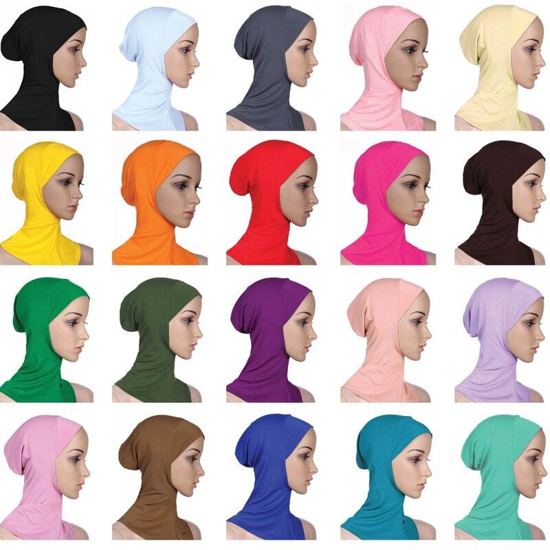 2019 Women Abaya Dubai Islam Muslim Maxi Modal Hijab Caps Scarf Turbante Mujer Shawl Turban Stole Wrap Jilbab Headscarf Hijabs