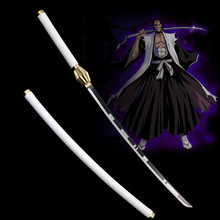 classic movie katana anime sword Bleach carbon steel  Vintage Blade Home decor swords