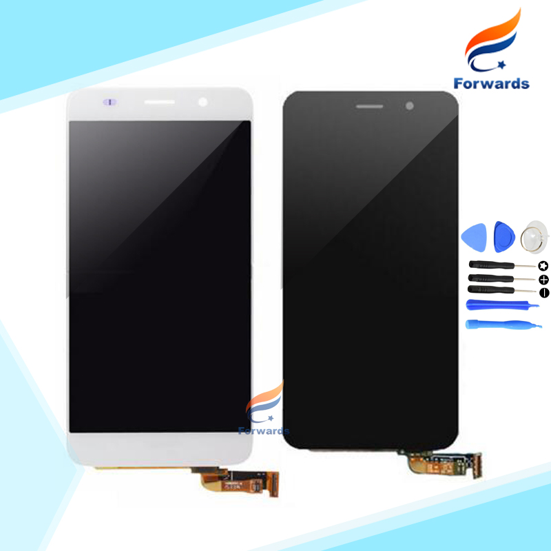 Brand new replacement for Huawei Y6 LCD Screen Display with Touch Digitizer + Tools Assembly Black&White 1 piece free shipping brand new lcd for samsung s5 i9600 g900a g900f g900t screen display with touch digitizer tools assembly 1 piece free shipping