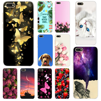 New For Huawei Y5 2018 Case Huawei Y5 Prime 2018 Cover Soft Silicone Phone Case For Huawei Y5 Lite 2018 Y 5 DRA-LX5 Cover Capas image