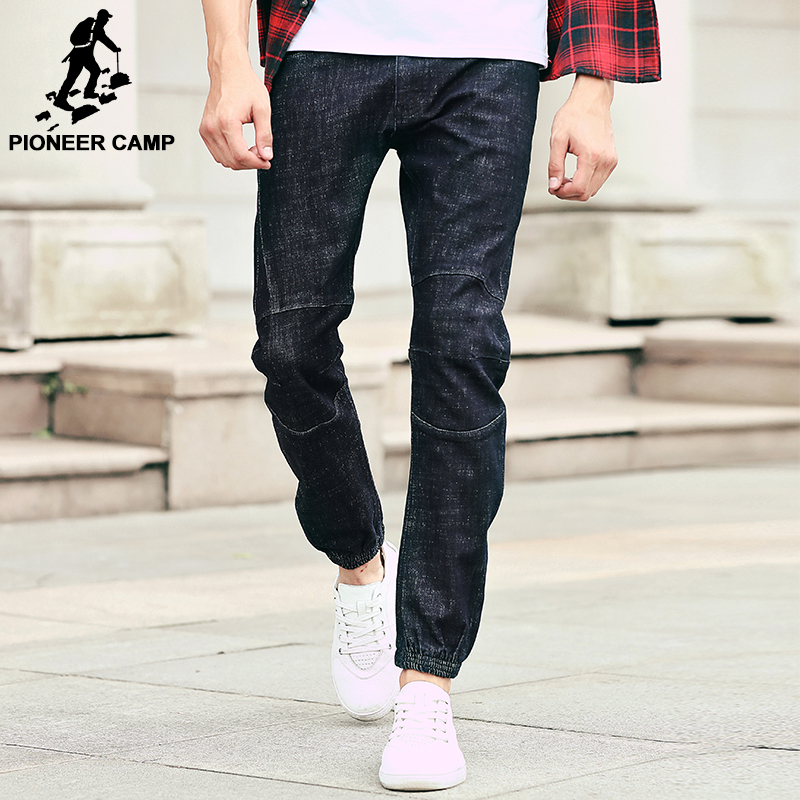 Pioneer Camp Men's jeans brand clothing top quality 2016 new arrival style fashion male jeans Feet pants casual trousers 611030