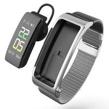 Y5 pulseira inteligente bluetooth chamada freqüência cardíaca esportes passo tela colorida toque bluetooth fone de ouvido de fitness inteligente