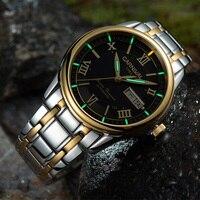 Carnival Men Tritium Light Watch T25 Automatic Watch Date Day Tritium Gas Luminous Business Watch Luxury Gift|Mechanical Watches| |  -