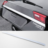 STAINLESS STEEL REAR HATCH DOOR TAILGATE MOLDING FOR VOLKSWAGEN TIGUAN 2017 2018 2019 ACCESSORIES CAR STYLING