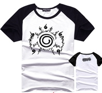 De Naruto Vloek seal patroon korte diverse kleuren t-shirts Na31