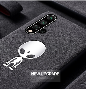Image 2 - Luxury Suede Leather Case For Huawei P20 P30 Mate 20 Pro Matte Soft Cover Nova 3 3i 4 5 Honor 10 Lite 20 8X Housing Shell Coque