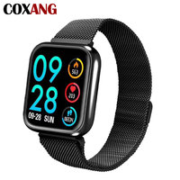 COXANG P70 Smart Watch For Men Blood Pressure Heart Rate Monitor Pedometer Fitness Sport Smartwatch For Apple IOS Iphone Android