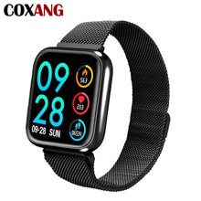 Купить с кэшбэком COXANG P70 Smart Watch For Men Blood Pressure Heart Rate Monitor Pedometer Fitness Sport Smartwatch For Apple IOS Iphone Android