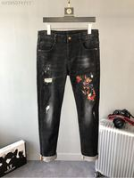 2018 new High Quality fashion Jeans Runway Summer man Brand Luxury Men's Clothing A07644