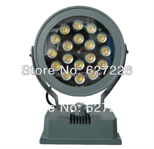 Outdoor lighting AC85-265V 18W LED Floodlights IP65 Waterproof Spotlights Landscape Lighting Red, green, blue, white, warm white