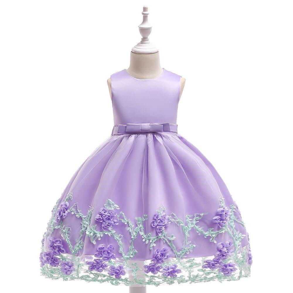 Vestido de verano para niños muchachas de flor vestido de boda del ...