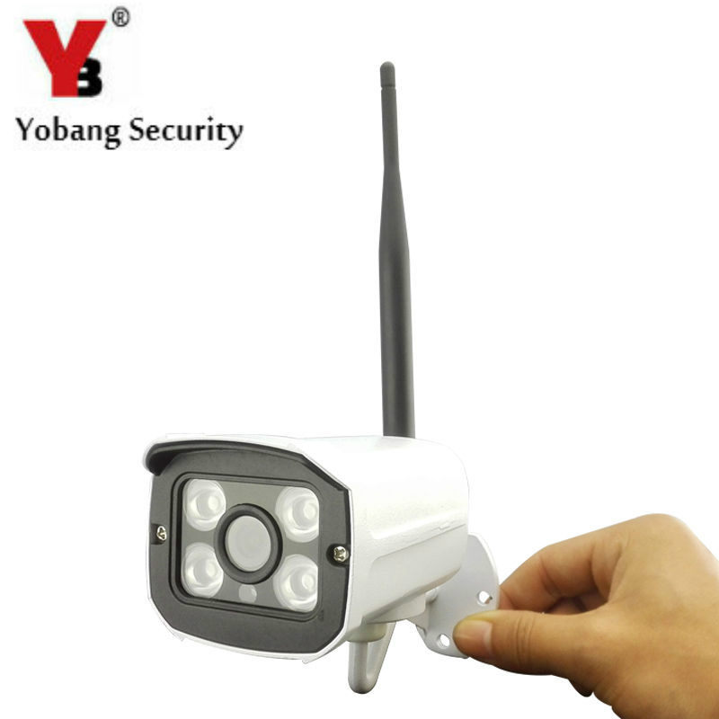 YobangSecurity HD 720P Waterproof WIFI Wireless IP Camera Outdoor CCTV Home Surveillance Network Camera Onvif IR Night Vision outdoor 720p ip camera hd wireless wifi array ir night vision bullet onvif waterproof cctv security ip 1mp network web camera