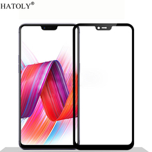 все цены на 1PCS Tempered Glass For OPPO R15 Screen Protector OPPO R15 Pro Full Cover for OPPO R15 PAAT00 PACM00 3D Curved Edge Film HATOLY онлайн