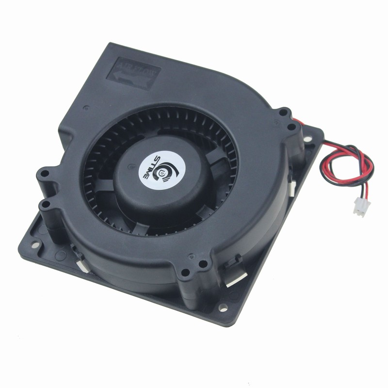 Gdstime Ball Bearing 120x32mm Blower Fan 12V 2 Pin 12cm DC Brushless Cooling Cooler Fan 120mm x 32mm High Quality gdstime 1 pcs 12cm 120x120x32mm blower fan 48v dual ball bearing 0 35a dc brushless cooling fan 120mm x 32mm big cooler 2 pin