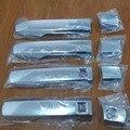 Alta qualidade ABS Chrome Side Maçaneta Capa Guarnição Para Toyota Land Cruiser 200 LC200 FJ200 2008 2009 2010 2011