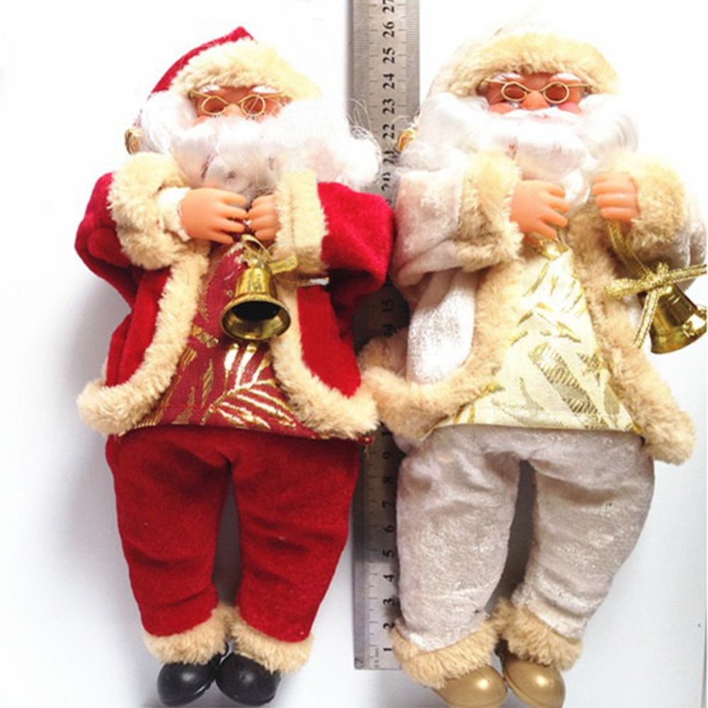 New arrival christmas decorations santa claus toy Latest christmas decorations