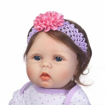 cute reborn dolls Newborn Reborn Baby Dolls Silicone Soft Babies Doll For Girls Princess Kid