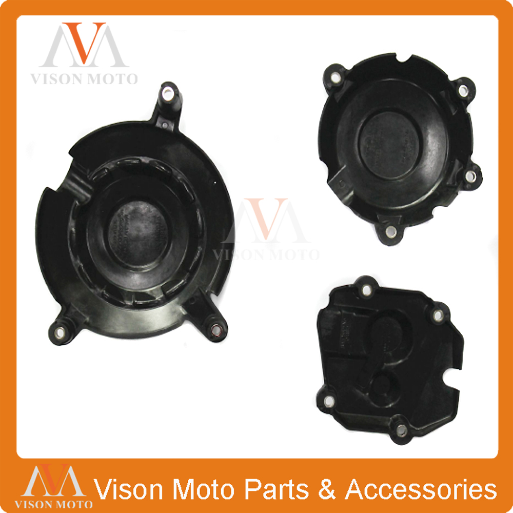 Motorcycle Engine Stator Side Clutch Ignition Cover Protection For KAWASAKI ZX10R ZX-10R 2011 2012 2013 2014 2015 2016 image