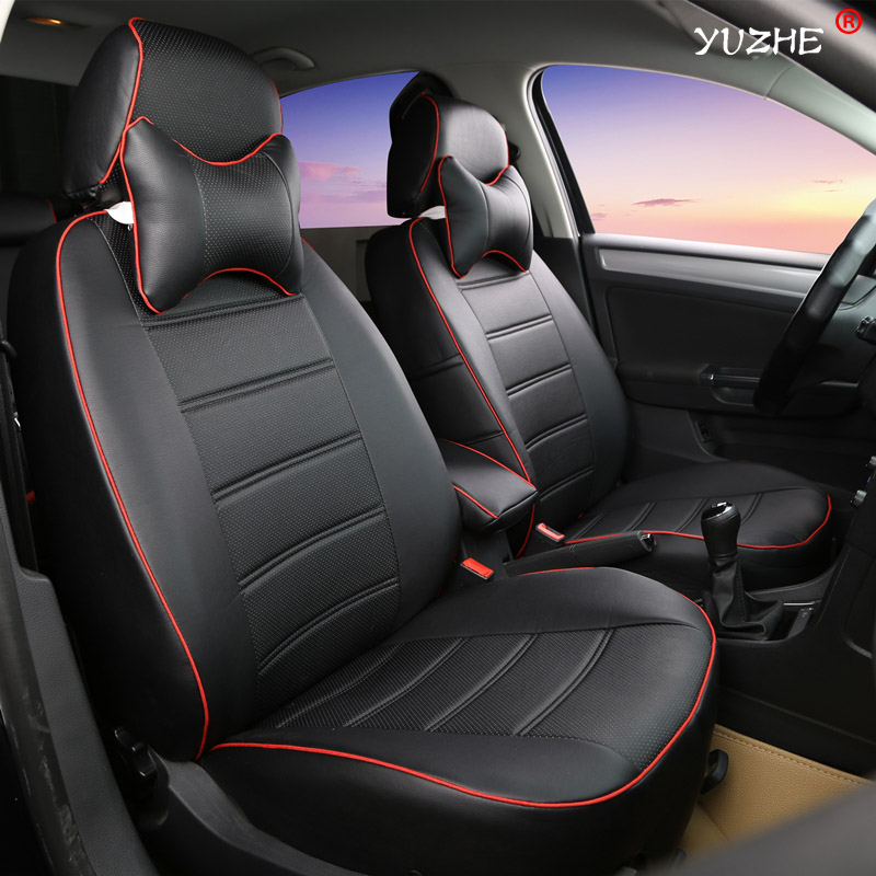 yuzhe leather car seat cover for mini one cooper r50 r52 r53 r55 r56 r60 r61 paceman countryman. Black Bedroom Furniture Sets. Home Design Ideas