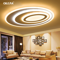 Remote control LED Ceiling Lights For Bed room living room Thick acrylic surface mounted lamp Modern lamparas de techo abajur