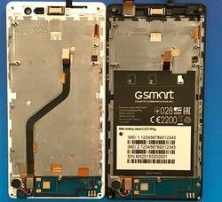 """5 """"cal wyświetlacz lcd i ekran dotykowy z ramką dla Gigabyte GSmart Mika MX szkło digitizer panel dotykowy wymiana w Ekrany LCD i panele do tabletów od Komputer i biuro na"""