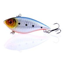 1PCS Hard VIB Lure 7cm 11g Fishing Bait Sinking Crankbait with Treble Hooks Artificial Sea ZD036