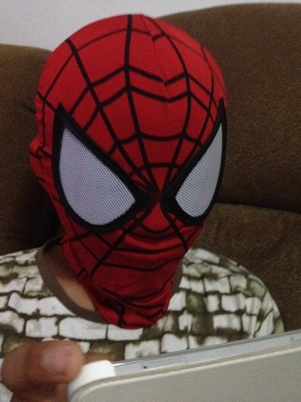 Super Cool <font><b>Spiderman</b></font> Flexible <font><b>Mask</b></font> <font><b>Cosplay</b></font> Hood Party <font><b>Masks</b></font> Full Head Halloween <font><b>Masks</b></font>