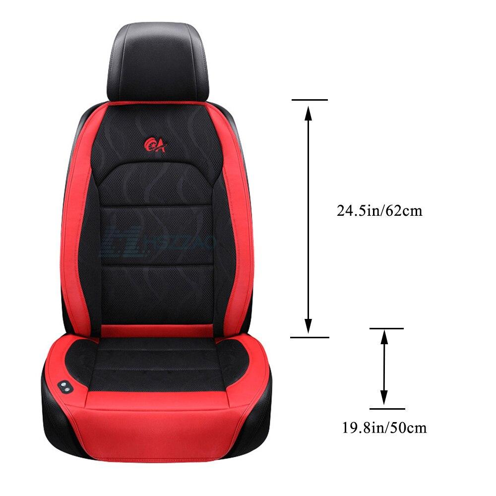 6 Fan + 2 Massage, zomer Auto Zitkussen Luchtkussen met Ventilator Stoelhoezen Autostoel Cooling Vest Koele Zomer Ventilatie Kussen