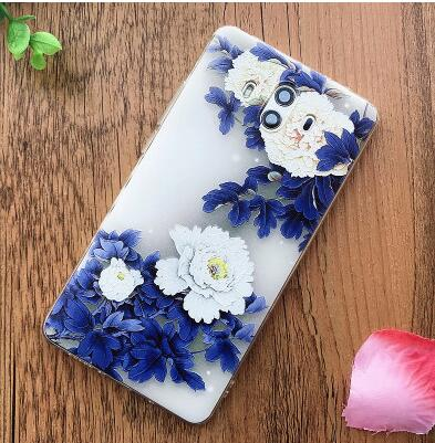 Huawei Mate 10 Case Silicon Luxury 3d Printed Chinese Style Soft Tpu Silicon Protective Back Cover