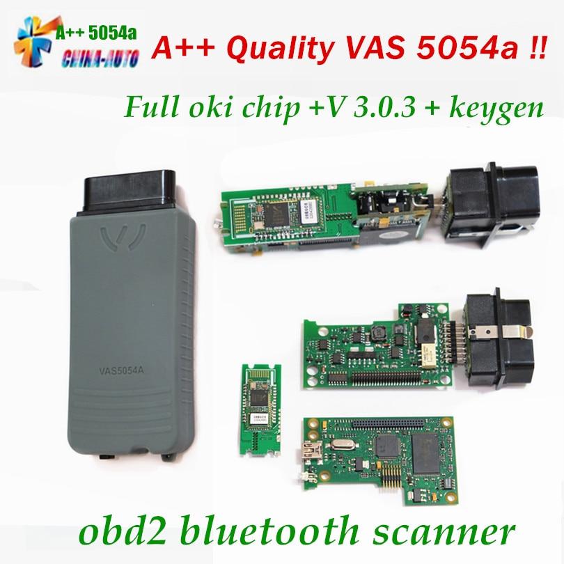 2017 Vas5054A Diagnostic Tool for V Bluetooth VAS5054 VAS 5054A VAS 5054 ODIS V3.0.3 Support Multi-Language DHL Free Shipping