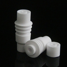 Ceramic Nails Universal 14mm 18mm  Male Can Open Ceramic Nail for 16mm Heating Coil glass bubbler 18mm ceramic