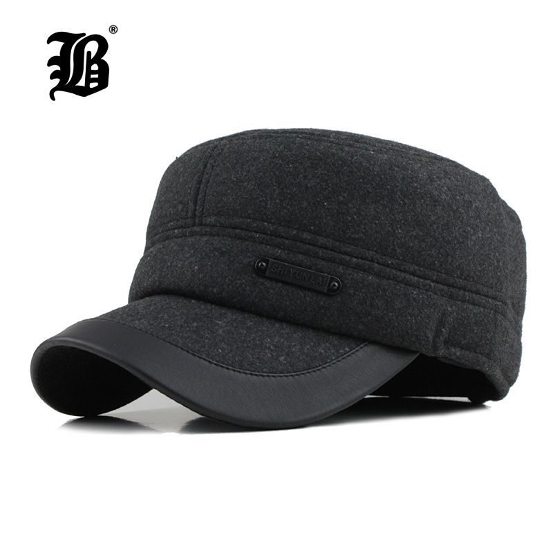 [FLB]  2017 Warm Winter spring Baseball Cap Thickened With Ears Men'S Cotton Hat Snapback Hats Ear Flaps For Men Hat князева а подвеска кончиты