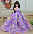 13 Styles Pretty Dress Party Princess Lace Gown Fashion Outfit Clothing For 1/6 Toy Barbie Doll Baby Toys for Girls Gift