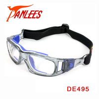 Panlees Clear Lens Anti Impact Dribble Aid Basketball Prescription Glasses Sport Glasses For Soccer Lentes Safety