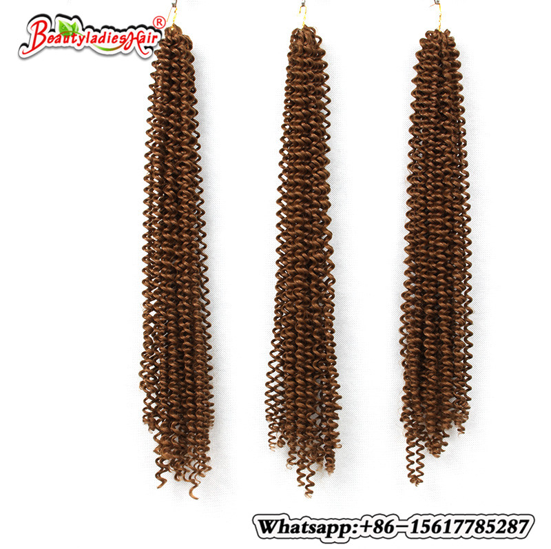 Hot selling 18 inch black/brown freetress hair freetress braid box braids crochet braids hair extension brazilian hair