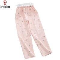 Women Thick Leisure Sleep Pajama Pants New Fashion Print Autumn Pajama Pants Keep Warm Women Long Pants Homewear Pants JW345