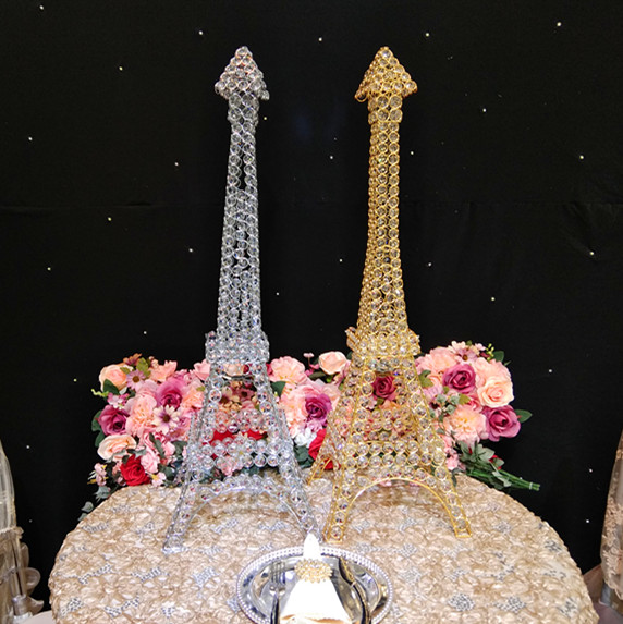 Romantic  wedding  3pcslotsCandelabra centerpiece  Towers crystal candle holder for weddingparty 10 days fast delivey