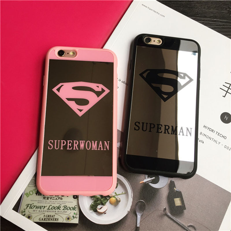 Superman superwoman reviews online shopping superman for Coque iphone 4 miroir